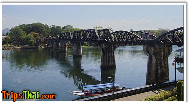 River Kwai bridge, Kanchanaburi